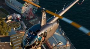 Helicopter over Luna Park