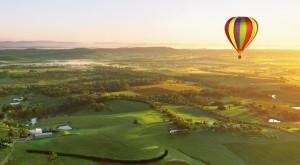 Balloons at dawn